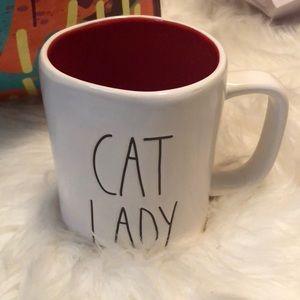RAE DUNN CAT LADY